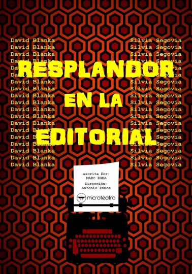 resplandor en la editorial madrid