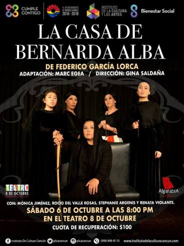 Casa Bernarda Alba Mexico